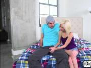 Hot stepmum Cory Chase joining in threesome
