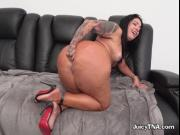 Bootylicious Hoe Monica Santhiago Has Her Anus Wrecked
