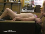 Amateur chick banged by neat fucker