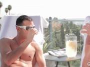 Sun bathing Lovers - Cole Harvey & Luke Hass free hardc