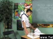 Gay guys Dustin Revees and Leo Page are 2 schoolboys st