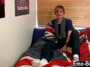 Gay clip of Brent Daley is a lovely blondie emo dude on