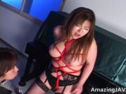 Japanese Momoko looking hot in stockings 5 by AmazingJA
