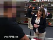 Hardcore voyeur banging at public place