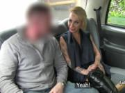 Taxi driver banging tattooed babe in lingerie