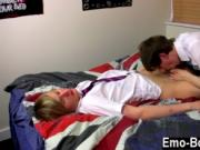 Gay movie Ethan Knight and Brent Daley are two nasty st