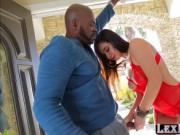 Voluptuous and slutty Karlee Grey rides Lexington Steel