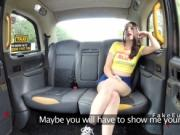 Fake taxi driver bangs teen in public