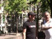 Horny dude visits Amsterdam