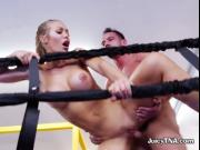 Sexy Babe Nicole Aniston Gets Her Pussy Drilled Hard