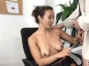 Hot mature in a banging action