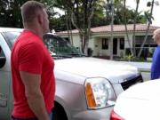 Young teen seduced Driving Lessons
