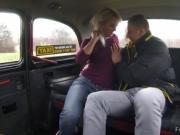 Euro boxer fucks blonde cab driver