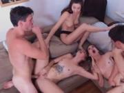 Hot nasty orgy Dorm Party