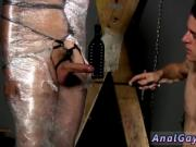 Male bondage clips gay Cristian is nearly swinging, pac