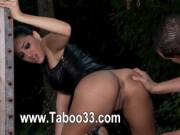 Houseoftaboo with hot latex clothing