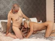 Old man sex Surprise your gf and she will penetrate wit