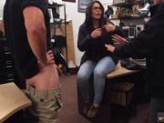 Shop threesome and magic Couple bi-otches tried to tear