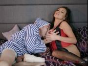 Slut Nikki Benz Steals Roommates Hung Boyfriend