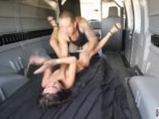 Dominates female Renee Roulette went to a party last ni