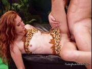 Freaky Teen Kadence Marie Ges Her Pussy Plowed