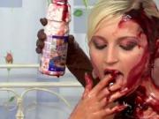 Horny women food porn