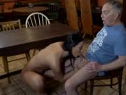 Old lady fucked hard and girl sex with man Can you trus