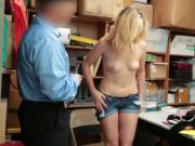 LP Officer shove his cock on Zoe Parkers pussy