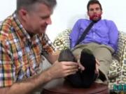 Free video gay sex with Chase LaChance Tied Up, Gagged