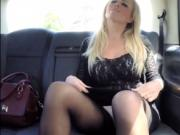 Horny Milf Rebecca Jane sucks and fucks the taxi driver