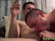 Gay twinks cumming hands free while being fucked Bryce