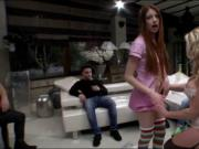 Victoria Summers n Rebecca Volpetti anal