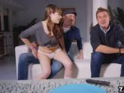 Newly divorced Danny banged Luna anally
