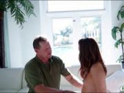 Alaina Dawson gets her pussy screwed by nasty stepdad