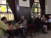 Petite Euro babe fucked in restaurant