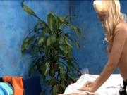Pretty girl prefers massage