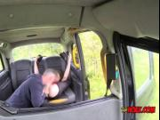 Nasty Hoe Star Del Ray Blows Hung Taxi Driver