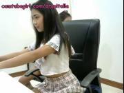 korean asian mommy Cherie deville sucks cock on webcam