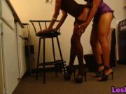Imani And Dariel Use Tongues And Toy To Please