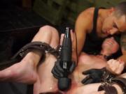 Hardcore BDSM blowjob