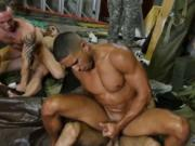 Porno gay muscle military video and hot army men nude F