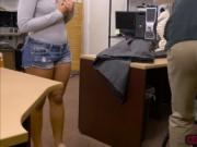 Naughty latina Mariah gets a hardcore sex in the office