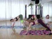 Yoga Enthusiasts and Victoria Gracen Go At It