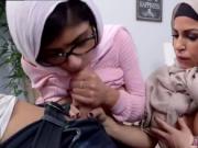 Muslim blowjob Art imitating life.