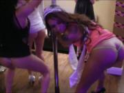 Bachelorette party turns into hard fucking with nasty g