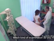 Petite patient hard fucks horny doctor