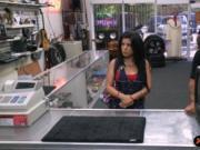 Slutty Cuban chick fucked for 500 bucks