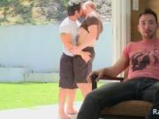 Cayden, Danny and Sean gay threesome porno 3 by RandyBl