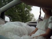 Amateur babe gets pounded by a stranger on her wedding
