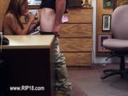 Amateur girl showing super penetrate action